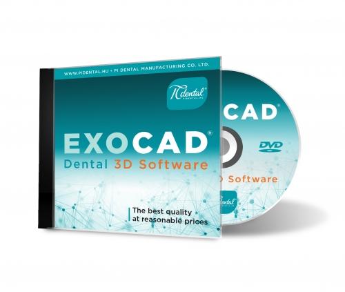Exocad Fogászati CAD szoftver
