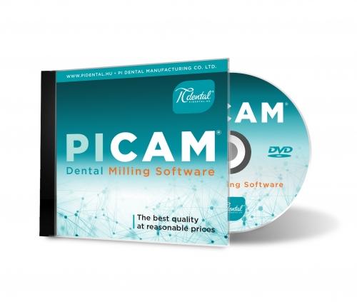 PiCAM Fogászati CAM szoftver
